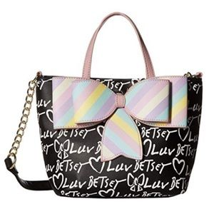 NWT Betsey Johnson Signature Hazel Tote